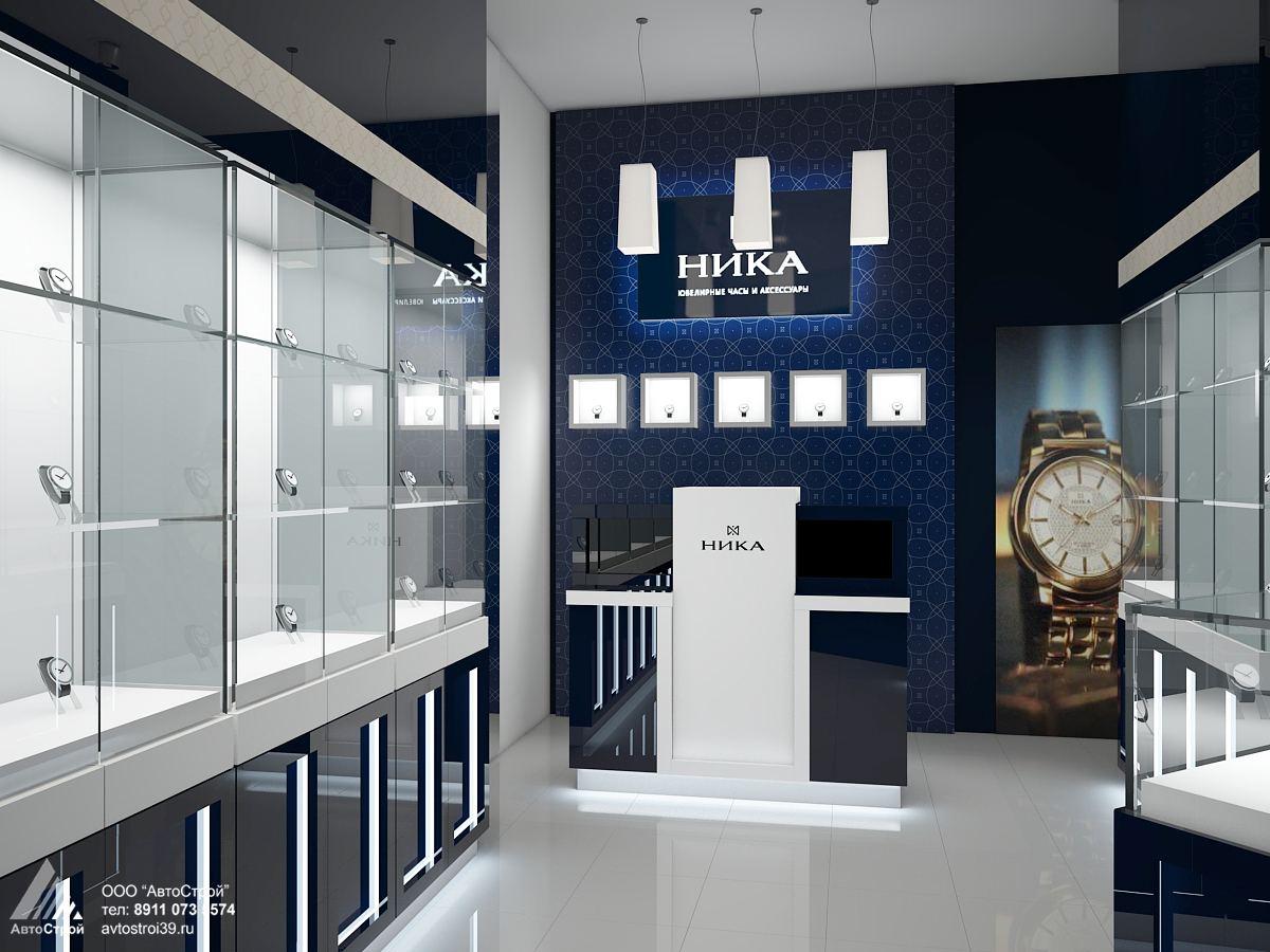 Дизайн магазинов ювелирных магазинов