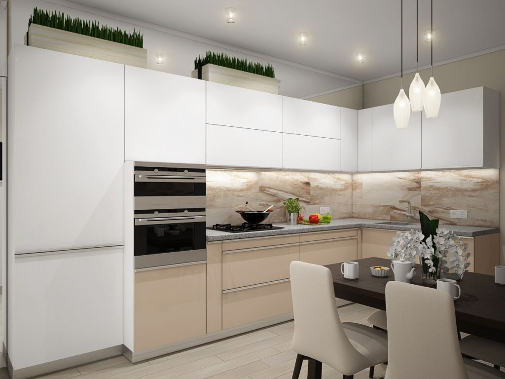 современный дизайн квартиры Калининград
