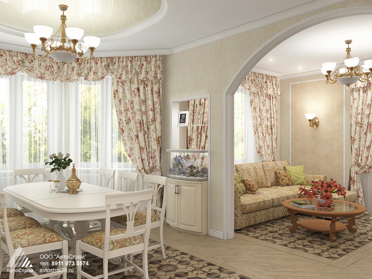 дизайн дачного дома в г. Калининград