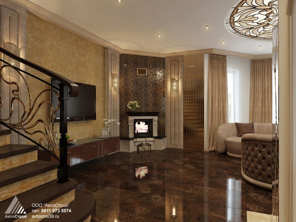 дизайн дома в стиле ар деко Калининград