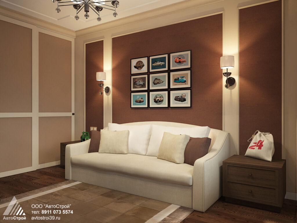 дизайн интерьера в классическом стиле Калининград
