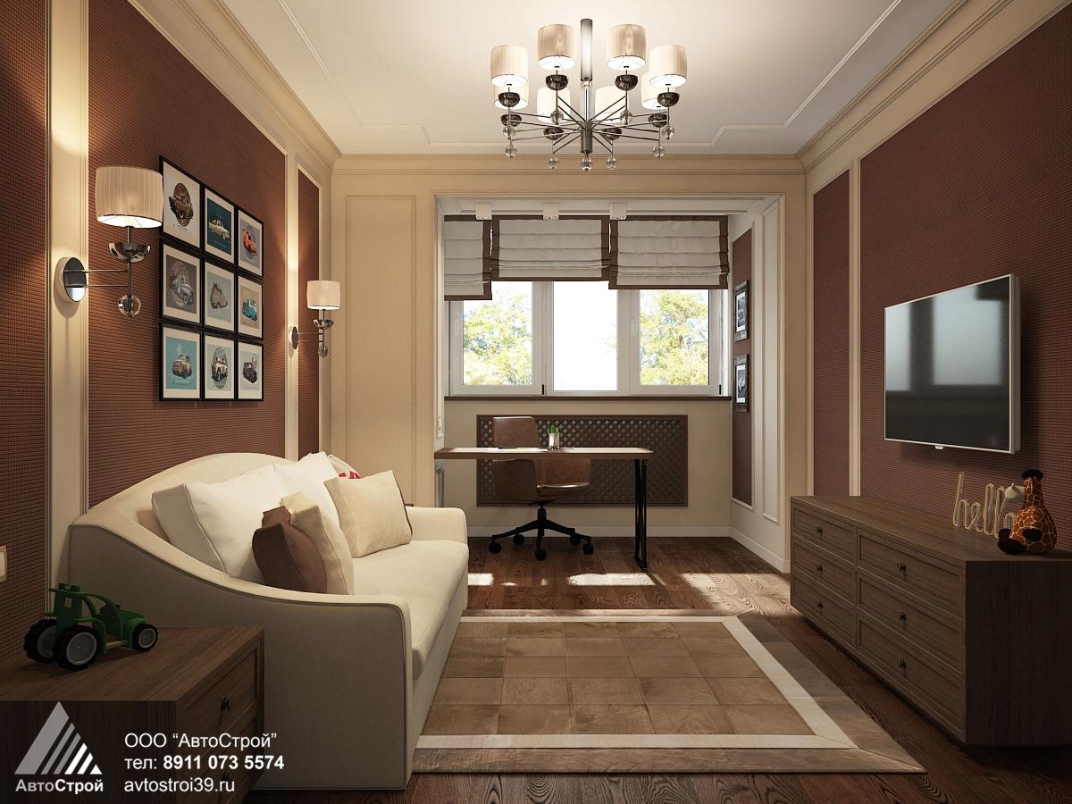 дизайн интерьера квартиры в классическом стиле Калининград