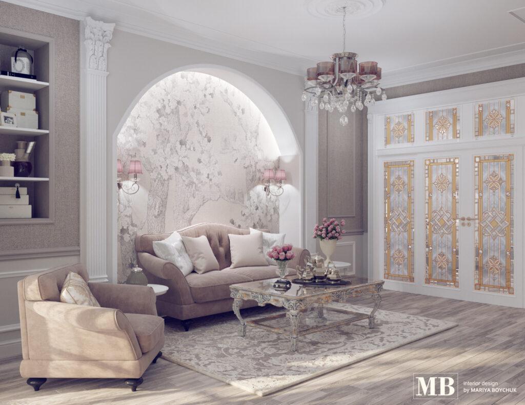 дизайн интерьера котеджа в Калининграде