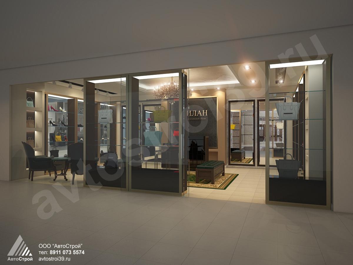 дизайн интерьера магазина Калининград в г. Калининград