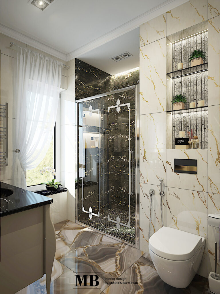 классический дизайн интерьера дома в г. Калининград