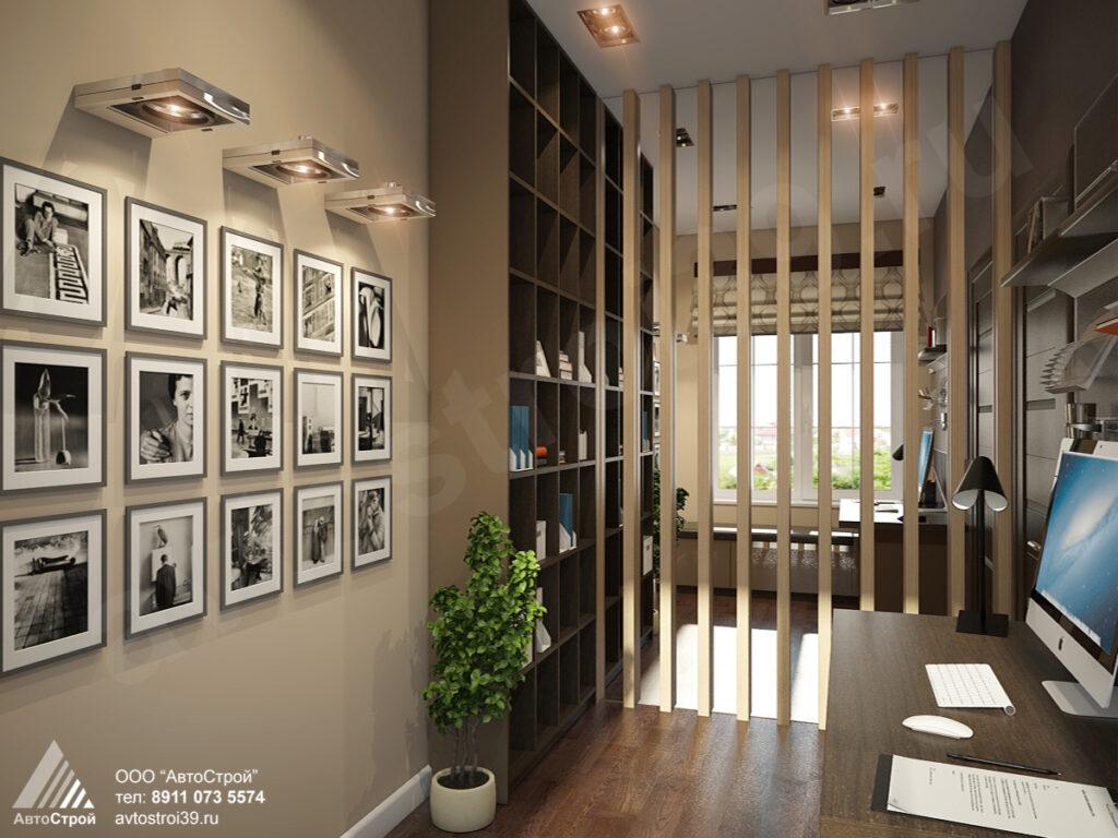 дизайн частного дома в современном стиле в Калининграде