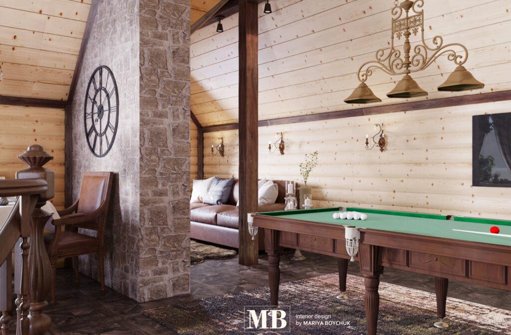 дизайн загородного дома г. Калининград