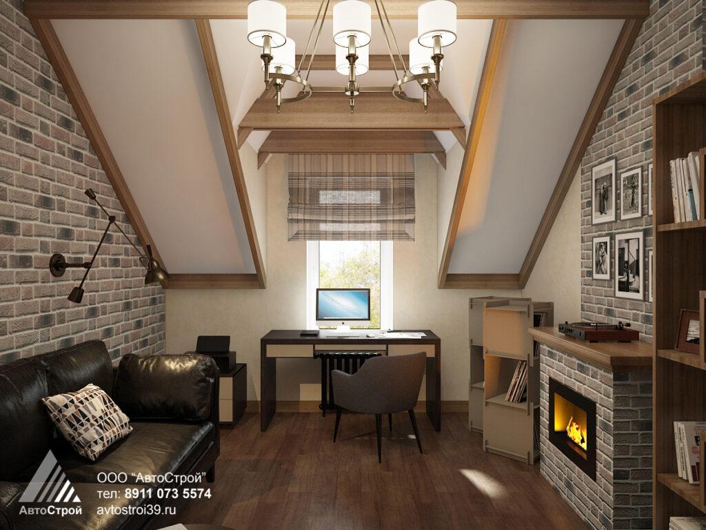 дизайн дома в эко стиле в г. Калининград