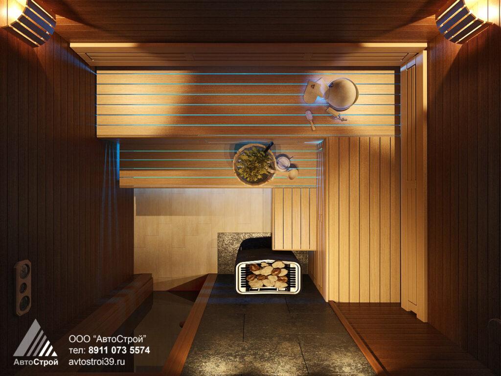 дизайн частного дома в г. Калининград