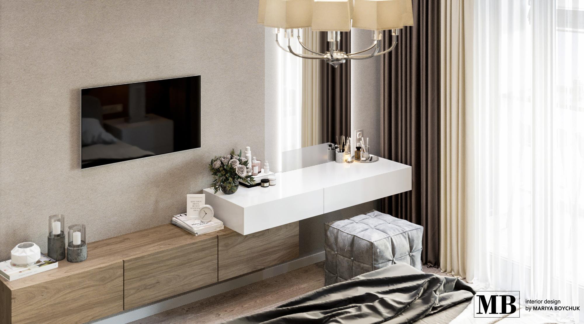 дизайн с элементами лофт стиля в квартире Калининград