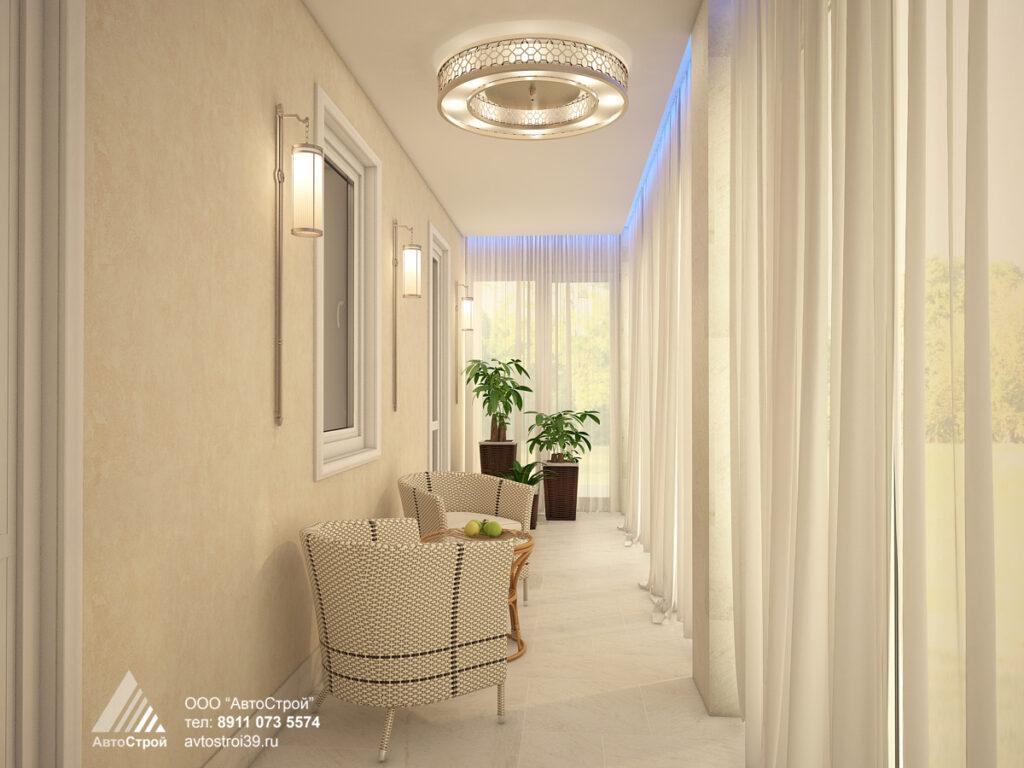 дизайн квартиры в г. Светлогорск