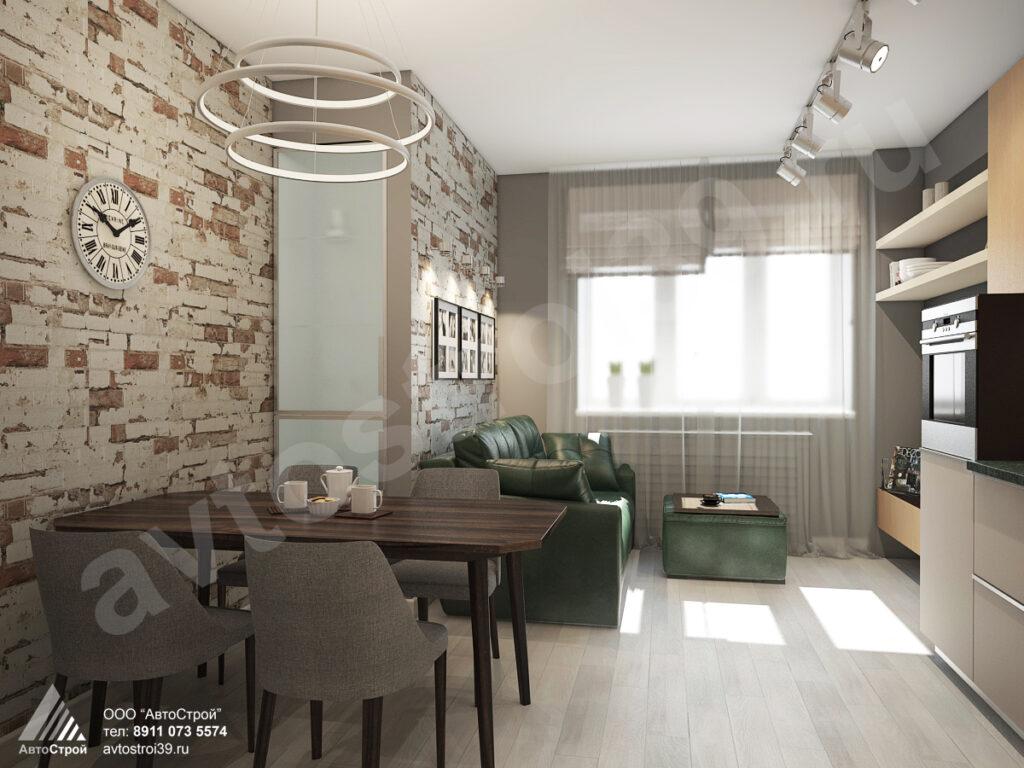 дизайн квартиры г. Калининград