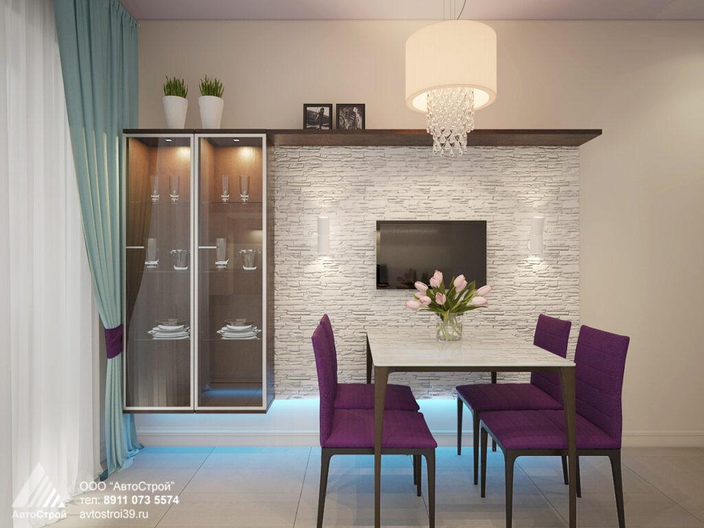 дизайн-проект квартиры в г. Калининград