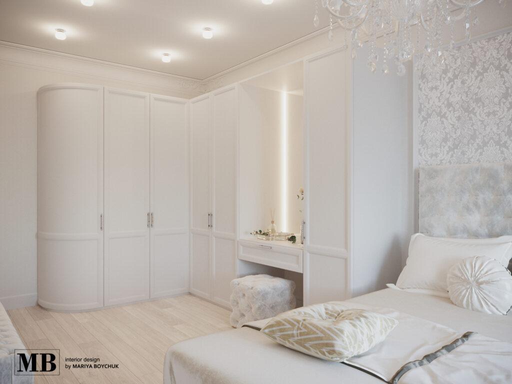 дизайн квартиры в стиле современной классики Калининград