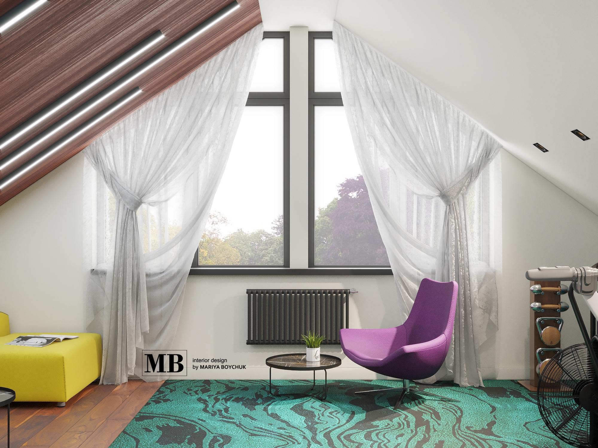 современный дизайн интерьера дома Калининград