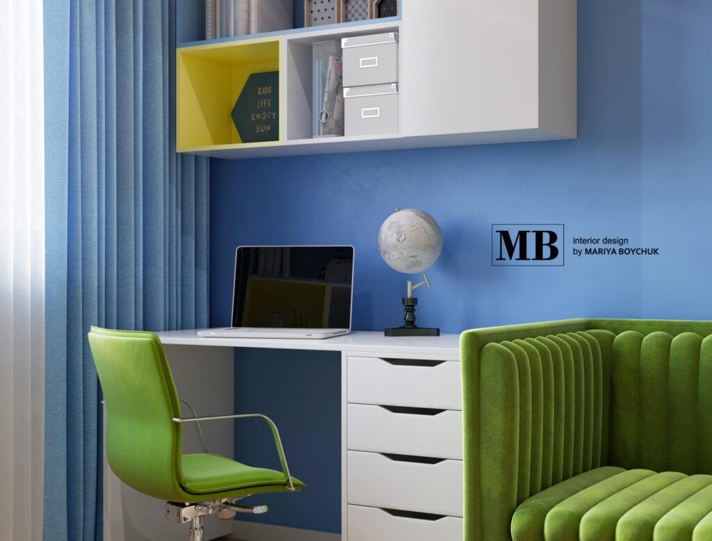 современный дизайн квартиры в г. Калининград