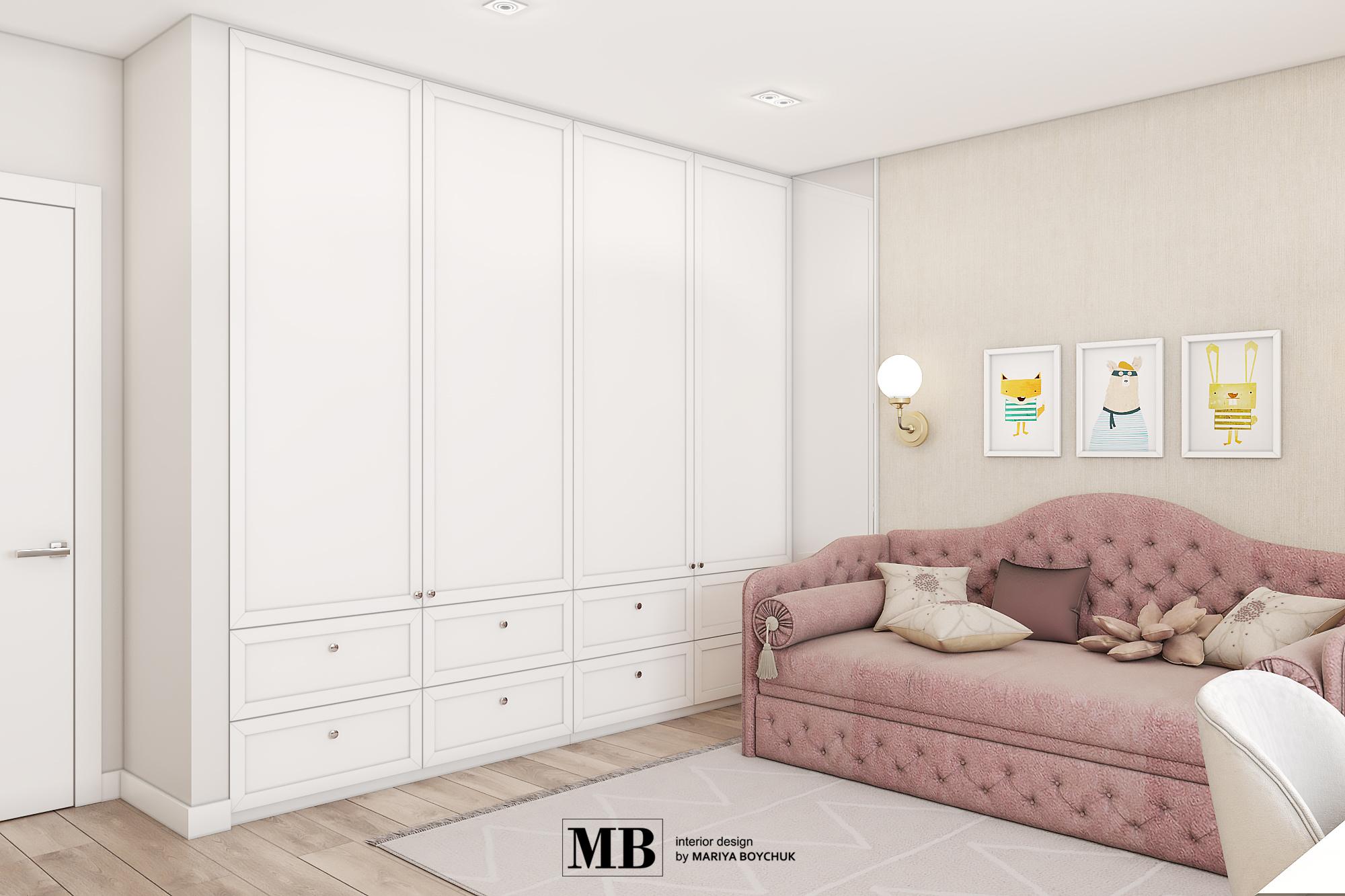 дизайн интерьера квартиры в г. Калининград