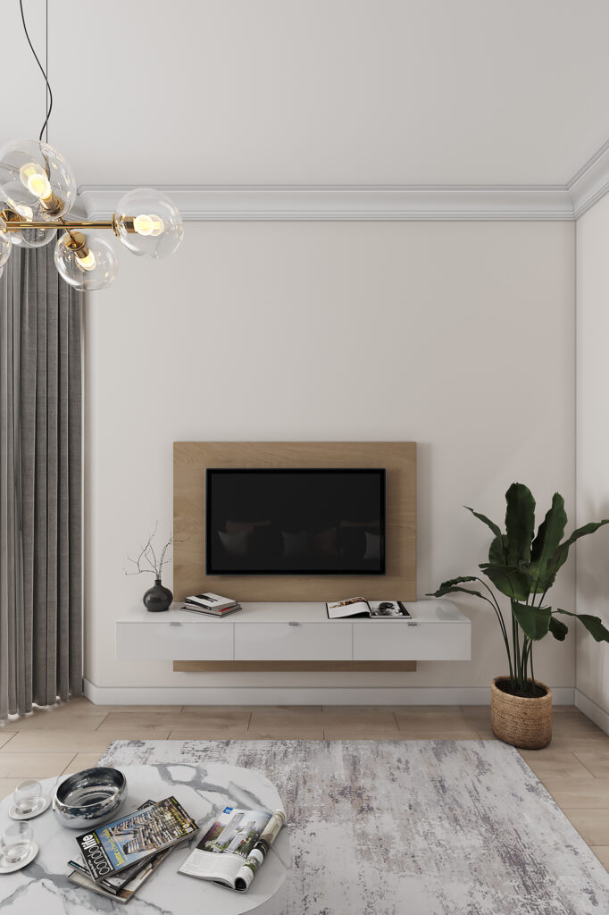 дизайн квартиры в современном стиле в г. Калининград