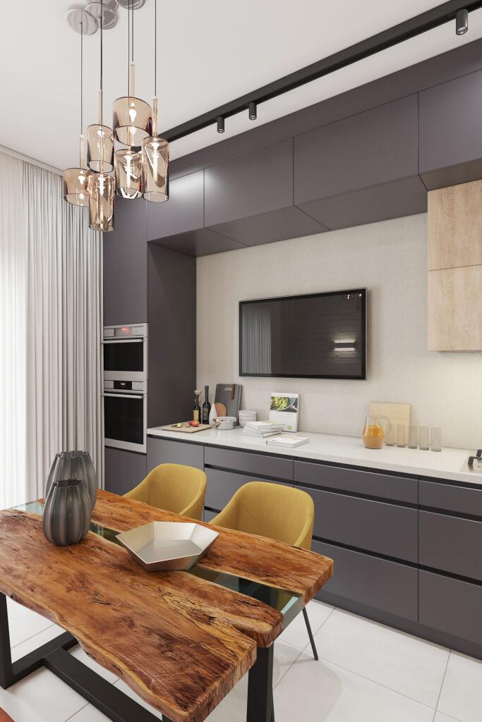 дизайн квартиры в современном стиле г. Калининград