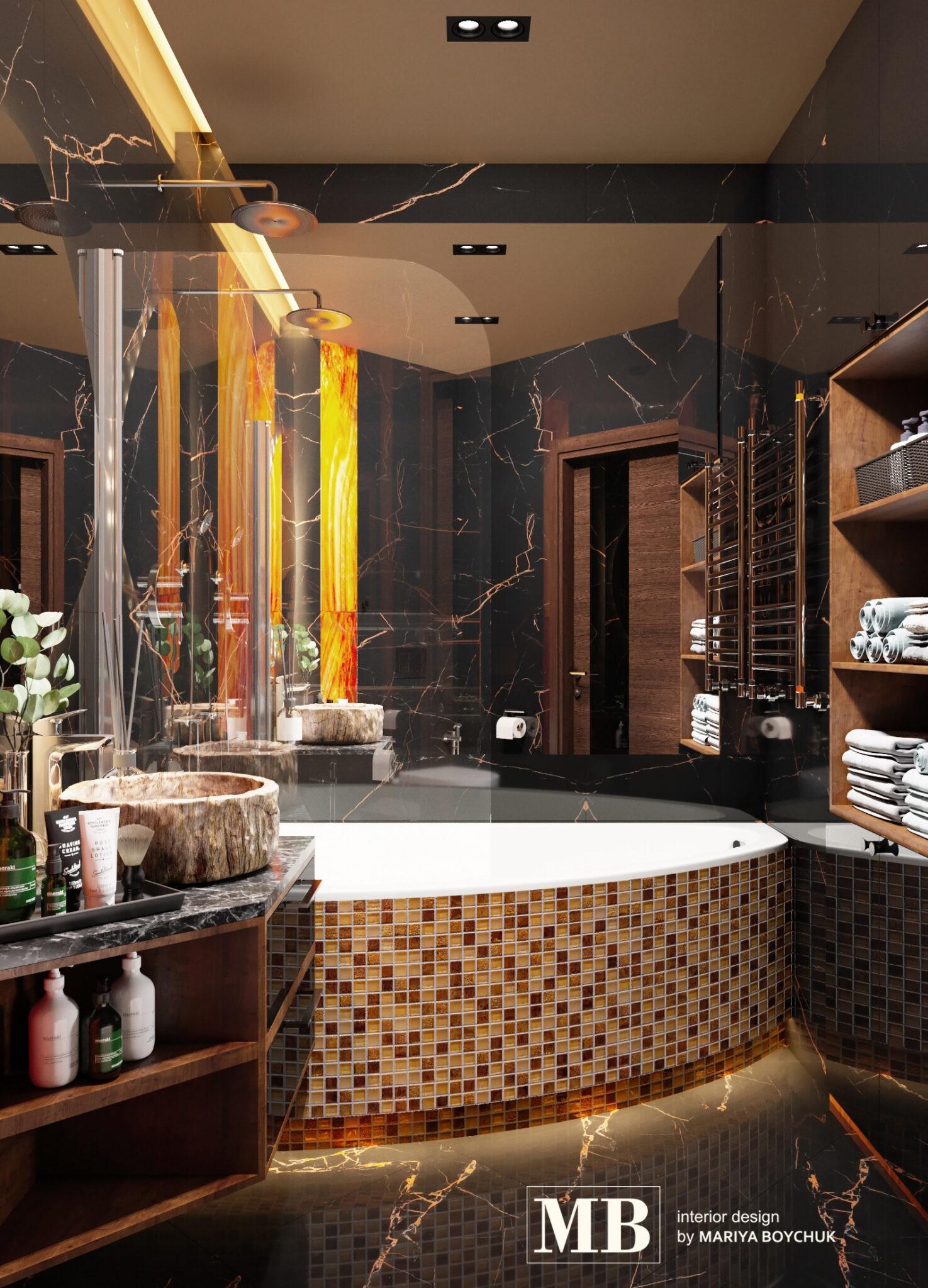 дизайн интерьера квартиры в стиле шале Калининград