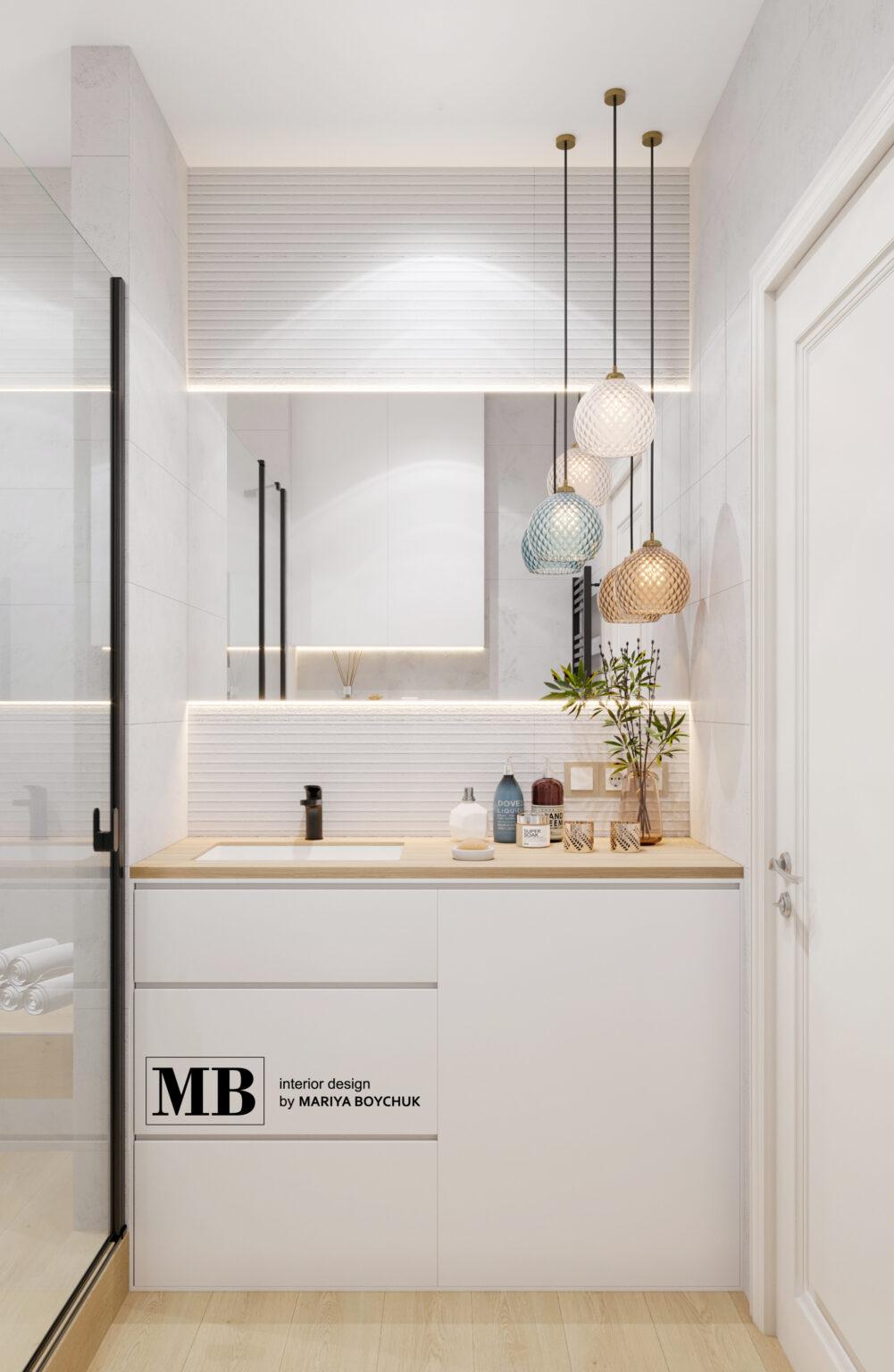 современный дизайн интерьера квартиры в Пионерском
