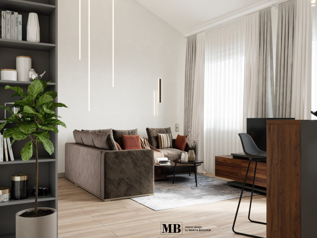 дизайн квартиры в Пионерском