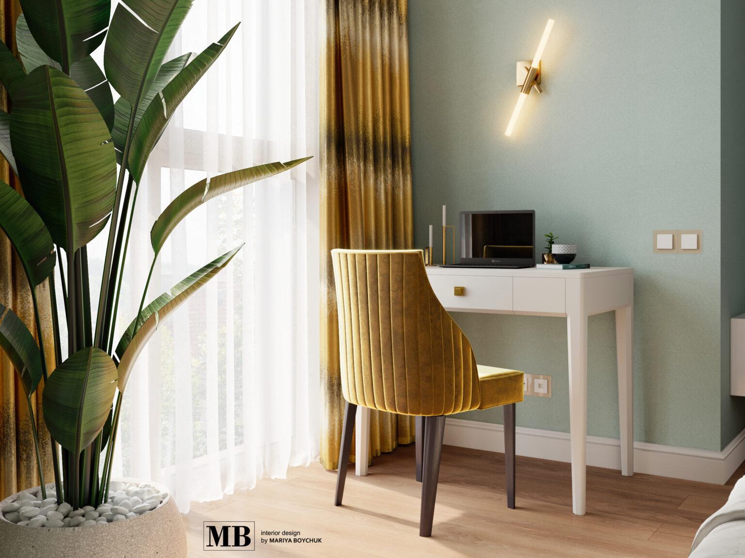 современный дизайн интерьера квартиры на побережье Балтики