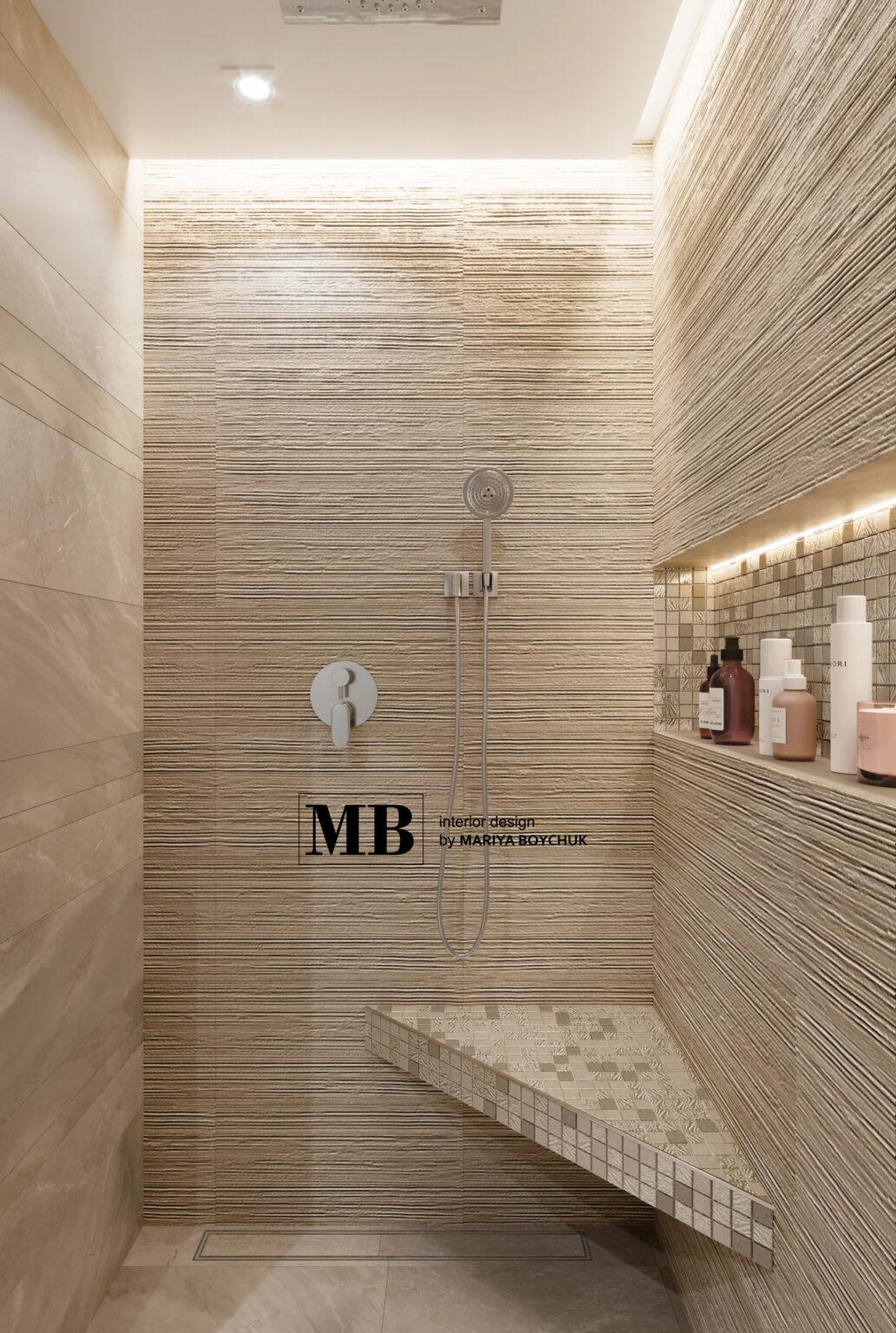 красивый дизайн интерьера в стиле современной классиики в Калининграде