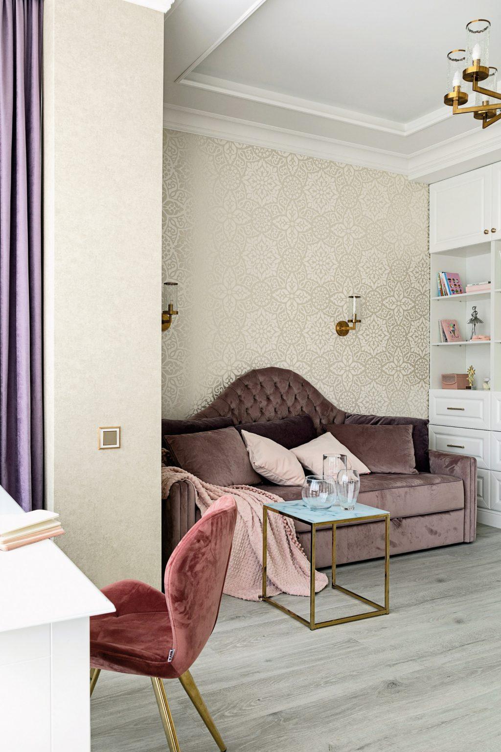 дизайн интерьера в стиле современной классики Калининград