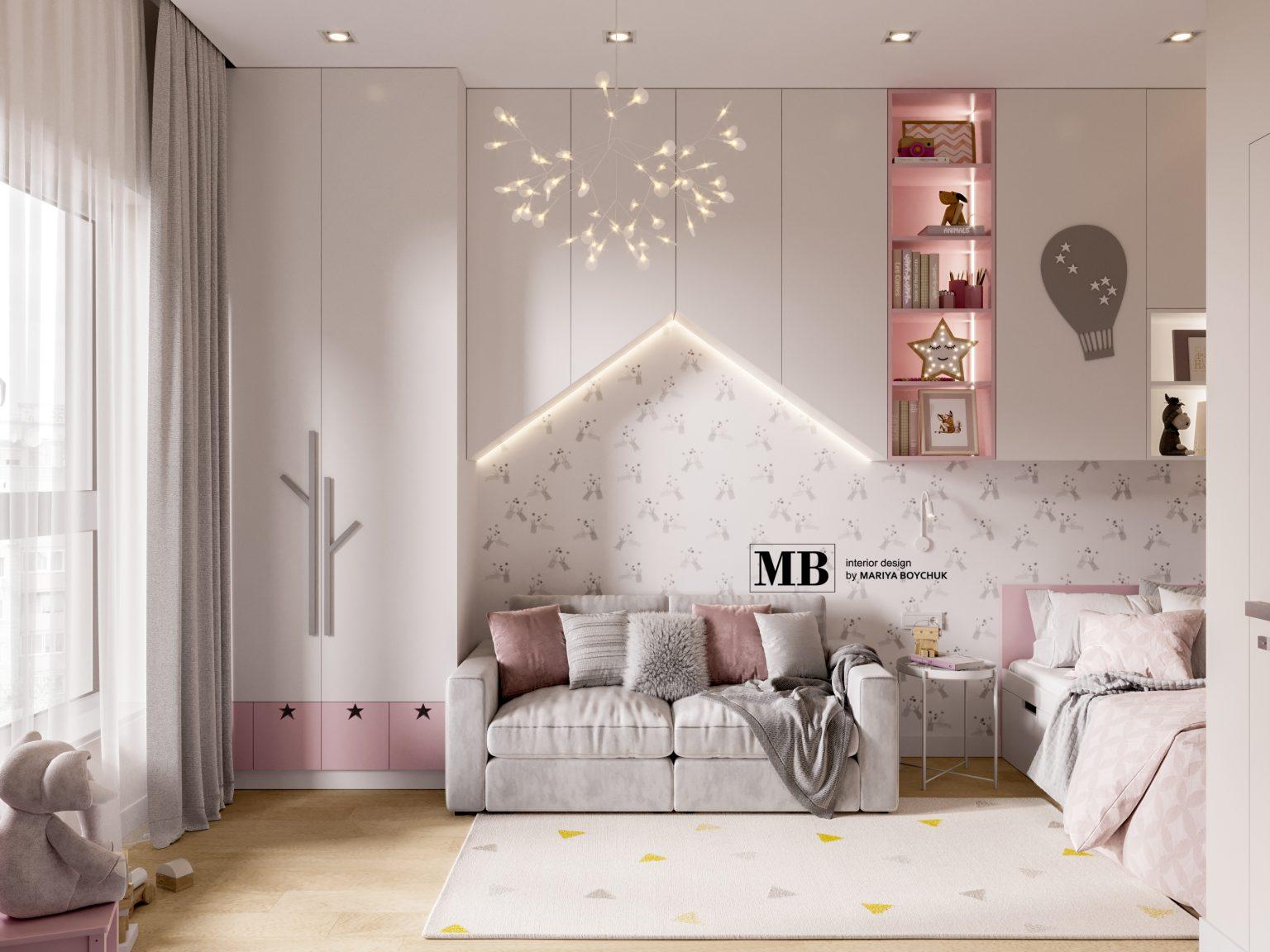 современный интерьер квартиры Калининград