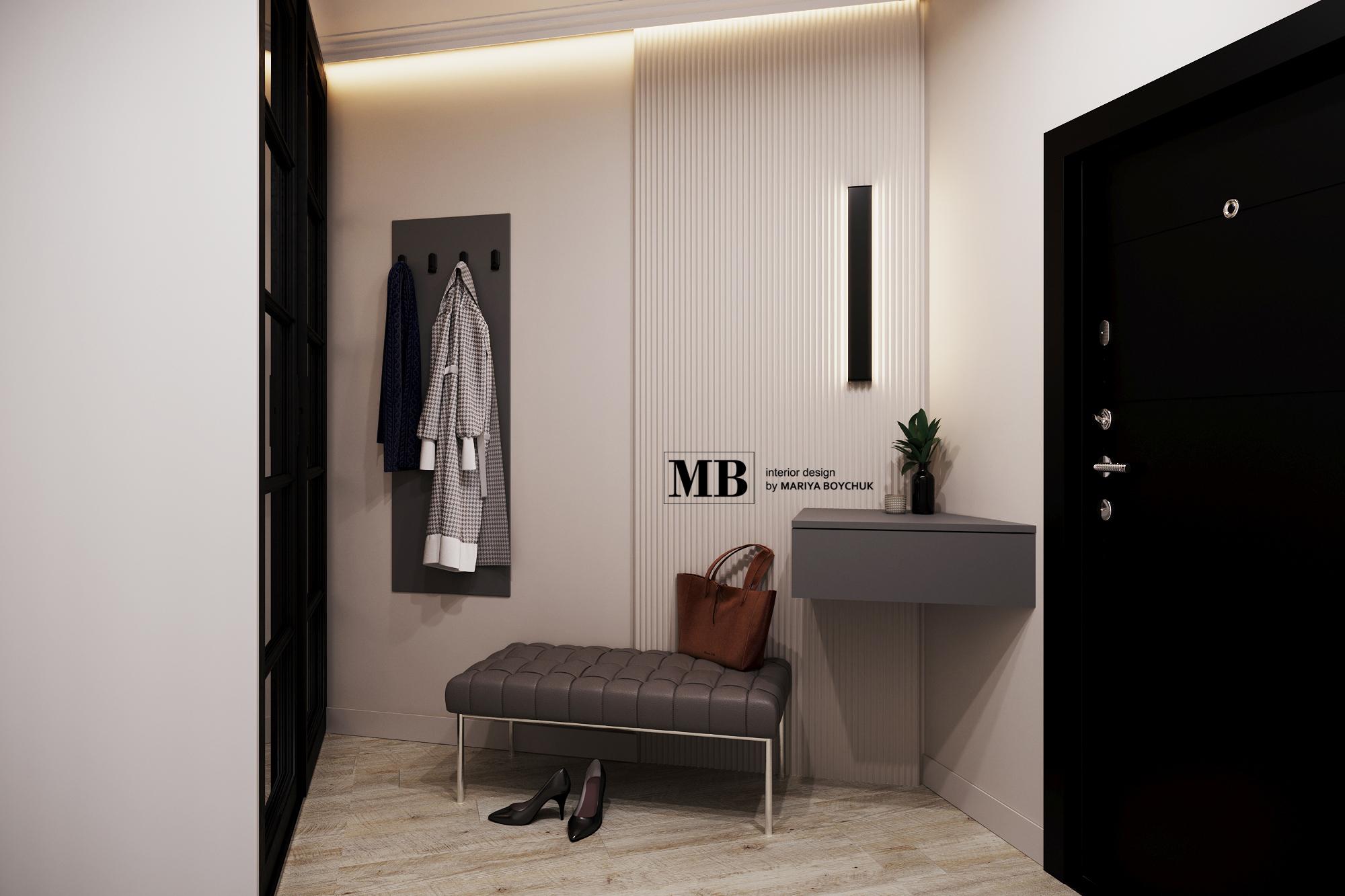 дизайн интерьера квартиры в Светлогорске